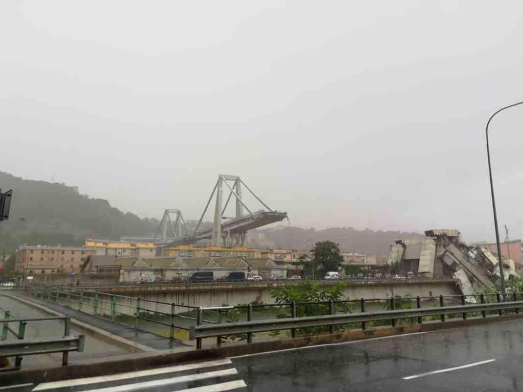 Ponte Morandi: diffuse le immagini del nuovo video del crollo