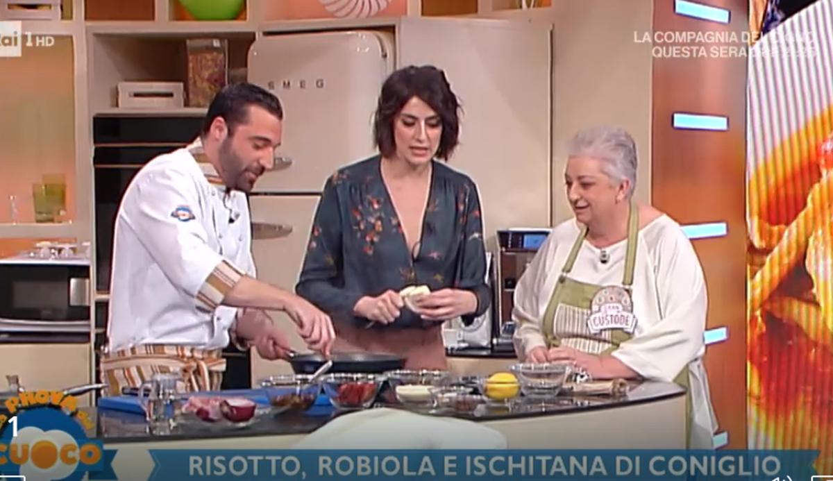 La prova del cuoco anticipazioni ospiti ricette for Ricette della prova del cuoco
